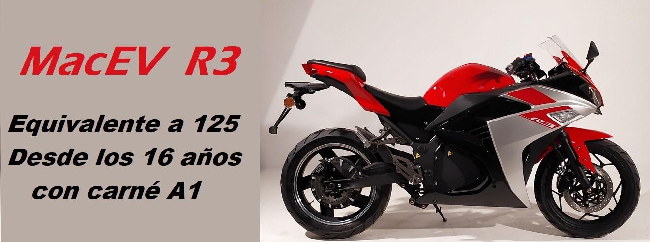 Nueva moto eléctrica R3